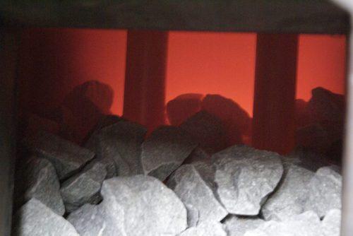 Температура камней русской бани